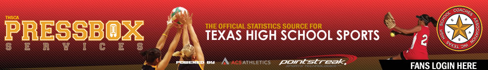 press box services official stats for texas high school sports